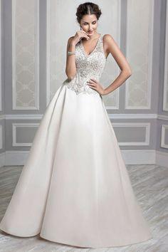 Wedding gown by Kenneth Winston
