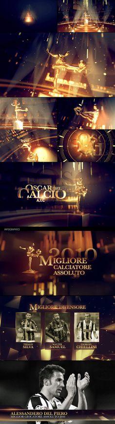 Oscar del Calcio 2010 by Angelsign Studio , via Behance