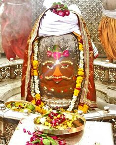 Bhasma Aarti pic of Shree #Mahakal #Ujjain - July 02  Visit the #holy city of #Ujjain - famous for its Temples.