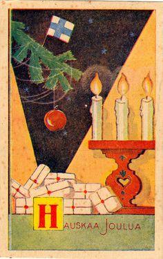 PAUL JERIMA Swedish Christmas, Christmas Holidays, Christmas Cards, Candles, Illustration, Painting, Vintage, Winter, Google