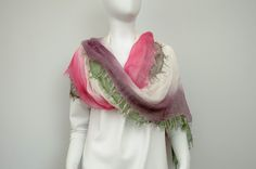 cotton silk foulard made in italy