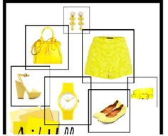 Spring into Yellow - Don't let fluorescent colors intimidate you love this vibrant shade of yellow is meant to liven your look, not distract from it. Make a sunny statement in a neon shift paired with heather grey sandals and a matching clutch. The color even works at the office or to brighten a dark suit with a lemon-kissed camisole or a blouse with a splash of citrine.