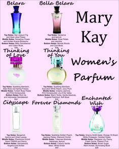 Mary Kay Women's Parfum Find the perfect scent for the lady you love! 208-541-3698 www.marykay.com/jesseldurrant jesseldurrant@marykay.com