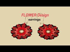 Learn the BASIC HUICHOL Beading Stitch with this FLOWER Design. Now in ENGLISH !!! - YouTube