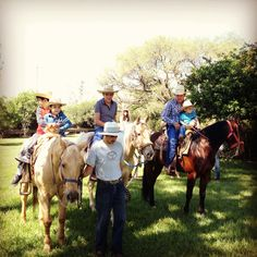 Horseback riding at the Hacienda can be a great family delight