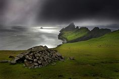 The Island of St Kilda, the most remotest part of the British Isles, 41 miles west of Benbecula in Scotland's Outer Hebrides. St Kilda Scotland, The Places Youll Go, Places To See, Outer Hebrides, British Isles, Great Britain, Landscape Photography, Beautiful Places, Amazing Places