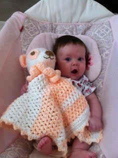 Pastel Panda Crochet Cuddle Blanket, Lovie, Snuggie Instant Download Pattern