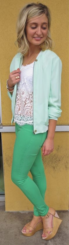 French Cuff Boutique: Daily Fashion Flash: Kelly and Lace
