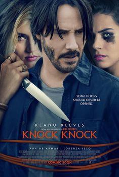 Knock Knock van Eli Roth met Keanu Reeves poster & trailer