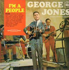 GEORGE JONES - I'm A People