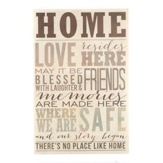 There really is No Place Like Home. #Kirklands #vintagechic #wallart