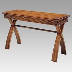 $379.99 Magnussen Bali Rectangle Flip Top Sofa Table