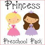 Princess preschool pack.