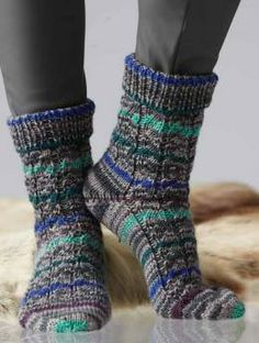 Iglu Color Socken Anleitung