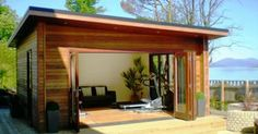 Guernsey Garden Rooms, The NEW Guernsey model. Experts in bespoke outside living solutions.