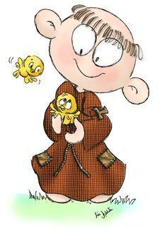 Resultado de imagen para dibujos franciscanos infantiles