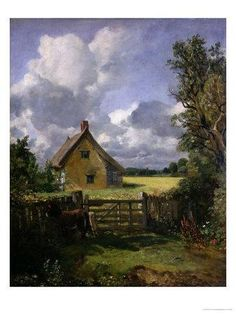 John Constable Cottage in a Cornfield print for sale. Shop for John Constable Cottage in a Cornfield painting and frame at discount price, ships in 24 hours. Art Gallery, Art Painting, Landscape Paintings, Plein Air Paintings, Painting, John Constable Paintings, Painting Reproductions, Canvas Art, Landscape Art
