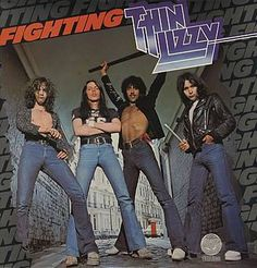 """Sep 12, 1975 – 40 years ago today, Thin Lizzy released their 5th album, """"Fighting."""""""