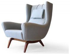 Illum Wikkelsø #110 Søren Willadsen Teak Easy Chair
