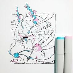 how to draw cute Copic Drawings, Anime Drawings Sketches, Pencil Art Drawings, Anime Sketch, Kawaii Drawings, Cute Drawings, Chibi Anime, Art Anime, Anime Art Girl