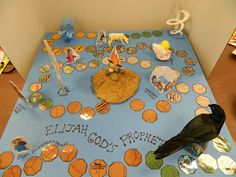 Hands On Bible Teacher: Elijahs Whirlwind Ride.  A board game is a great idea for many Bible lessons/themes.