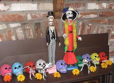Frank Sanchez Dia de los Muertos art & exhibit