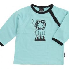 Contry l/æ t-shirt fra Graphic Baby - Økologisk børnetøj