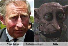 Prince Charles Totally Looks Like Dobby