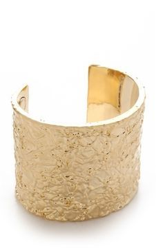 shopstyle.com: Marc by Marc Jacobs Paste & Prints Wide Foil Cuff
