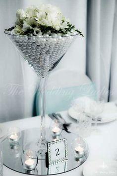martini glass centerpieces | martini vases 50cm giant martini vase beautiful and elegant ...