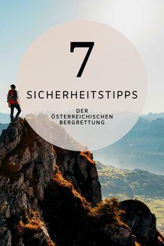 Die Österreichische Bergrettung hat 7 Tipps für sicheres Wandern zusammengefasst. Hier gehts zum Bericht.  #sicherheit #wandern #wandertipps #tipps #berge #österreich #bergrettung Portal, Movies, Movie Posters, Safety, Interesting Facts, Hiking, Film Poster, Films, Popcorn Posters