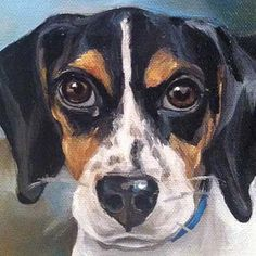 Custom pet portraits oil painting commissions by San Francisco artist Julie Pfirsch of animals dogs and cats