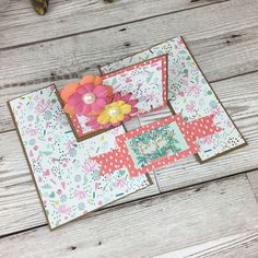 "See how to make an impossible card from just one piece of 5""x7"" card."
