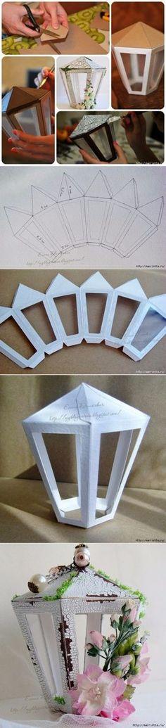 Lamplara de carton