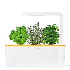 NEW & LIMITED - Smart Herb Garden with Orange Lid! Shop now: http://www.clickandgrow.com/catalog/product/view/id/27/s/smart-herb-garden-orange/category/5/?utm_source=pinterest.com&utm_medium=smm&utm_campaign=pinsalesorangeshg1212 | Click & Grow