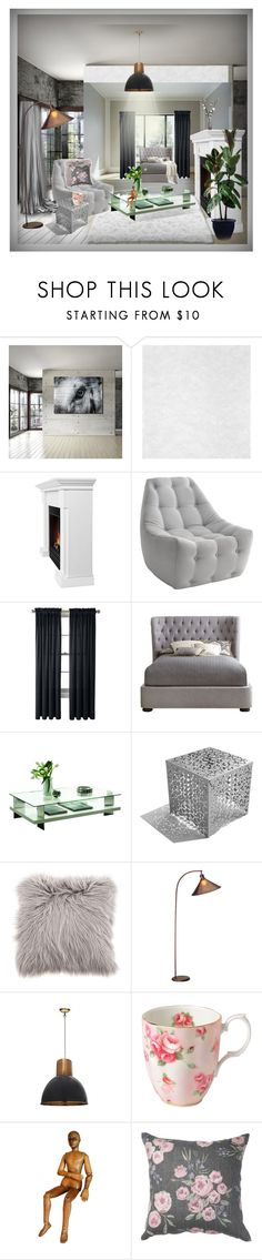 """Weekend Living."" by julidrops ❤ liked on Polyvore featuring interior, interiors, interior design, home, home decor, interior decorating, Ready2hangart, Real Flame, Royal Velvet and Pacini & Cappellini"