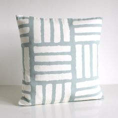Geometric Pillow Cover Scandinavian Cushion Cover by CoupleHome