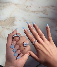 Summer Acrylic Nails, Best Acrylic Nails, Acrylic Nail Designs, Summer Nails, Aycrlic Nails, Glitter Nails, Kylie Nails, Nail Designer, Fire Nails