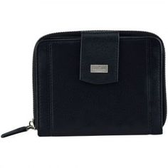 Pierre Cardin Simple Dompet Kulit - Hitam