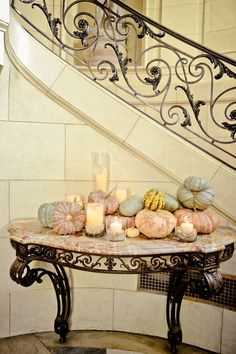 Pumpkin Wedding Decor 275x413 Fall Wedding Ideas