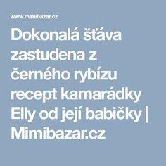 Dokonalá šťáva zastudena z černého rybízu recept kamarádky Elly od její babičky   Mimibazar.cz Food And Drink, Syrup, Alcohol