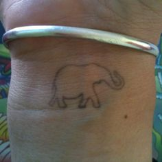 My Thailand elephant tattoo
