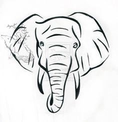Elephant Tattoo Design by ~silverheartx on deviantART