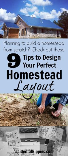 Developing the perfect homestead layout can be tricky. Use these 9 tips to start developing your own perfect homestead layout to create an abundant home. Homestead Layout, Homestead Farm, Homestead Survival, Survival Skills, Homestead Living, Homestead Gardens, Urban Survival, Wilderness Survival, Survival Guide
