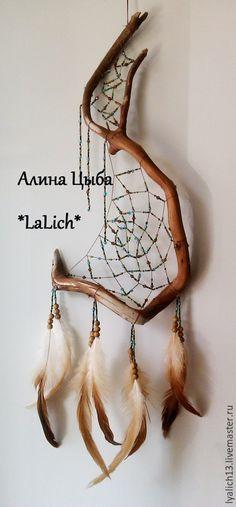 Driftwood Mobile, Sun Catcher, Wood Art, Dream Catchers, Diy, Handmade, Crafts, Macrame, Decor