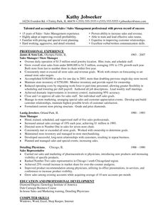 17 Best images about Resume Help | Resume examples, Retail and Resume