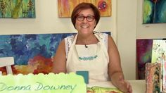Faber-Castell Design Memory Craft: Drip Techniques with Gelatos. One of Donna Downey's favorite techniques!  Join Donna as she shows you her...