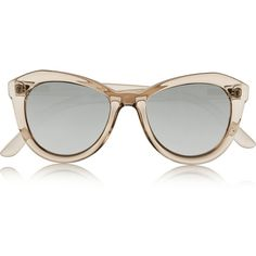 Le Specs Peach Pit cat-eye acetate sunglasses, Women's ($52) ❤ liked on Polyvore featuring accessories, eyewear, sunglasses, glasses, cat-eye glasses, retro cat eye sunglasses, acetate sunglasses, retro style sunglasses and retro glasses