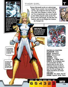 Marvel Avengers - Lexikon der Superhelden - Thor Girl - DorlingKindersley - kulturmaterial
