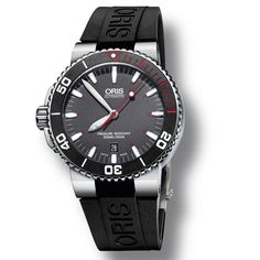 ORIS Aquis Red Limited Edition Keeping the Red Sea Afloat - Introducing the new Oris Aquis Red Limited Edition (See more at En/Fr/Es: http://watchmobile7.com/articles/oris-aquis-red-limited-edition) #watches #montres #relojes #oris